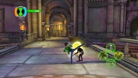 Ben 10 Ultimate Alien Cosmic Destruction PSP | Android ...