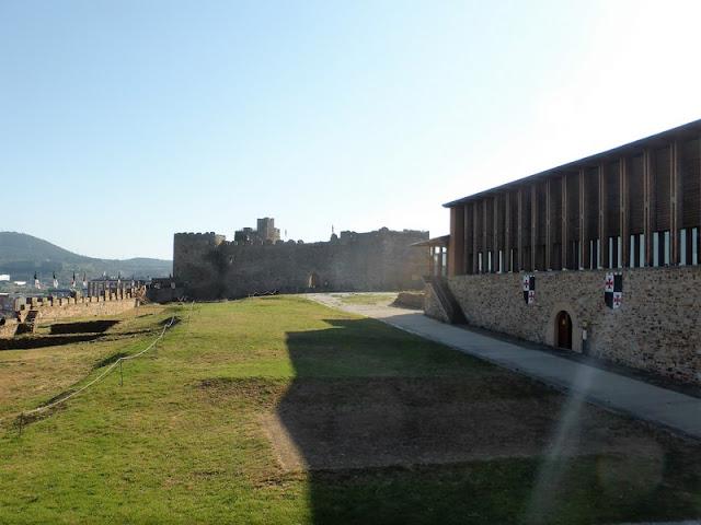 Castillo Templario de Ponferrada, patio interior