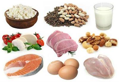 Thực phẩm giàu protein ngăn rụng tóc