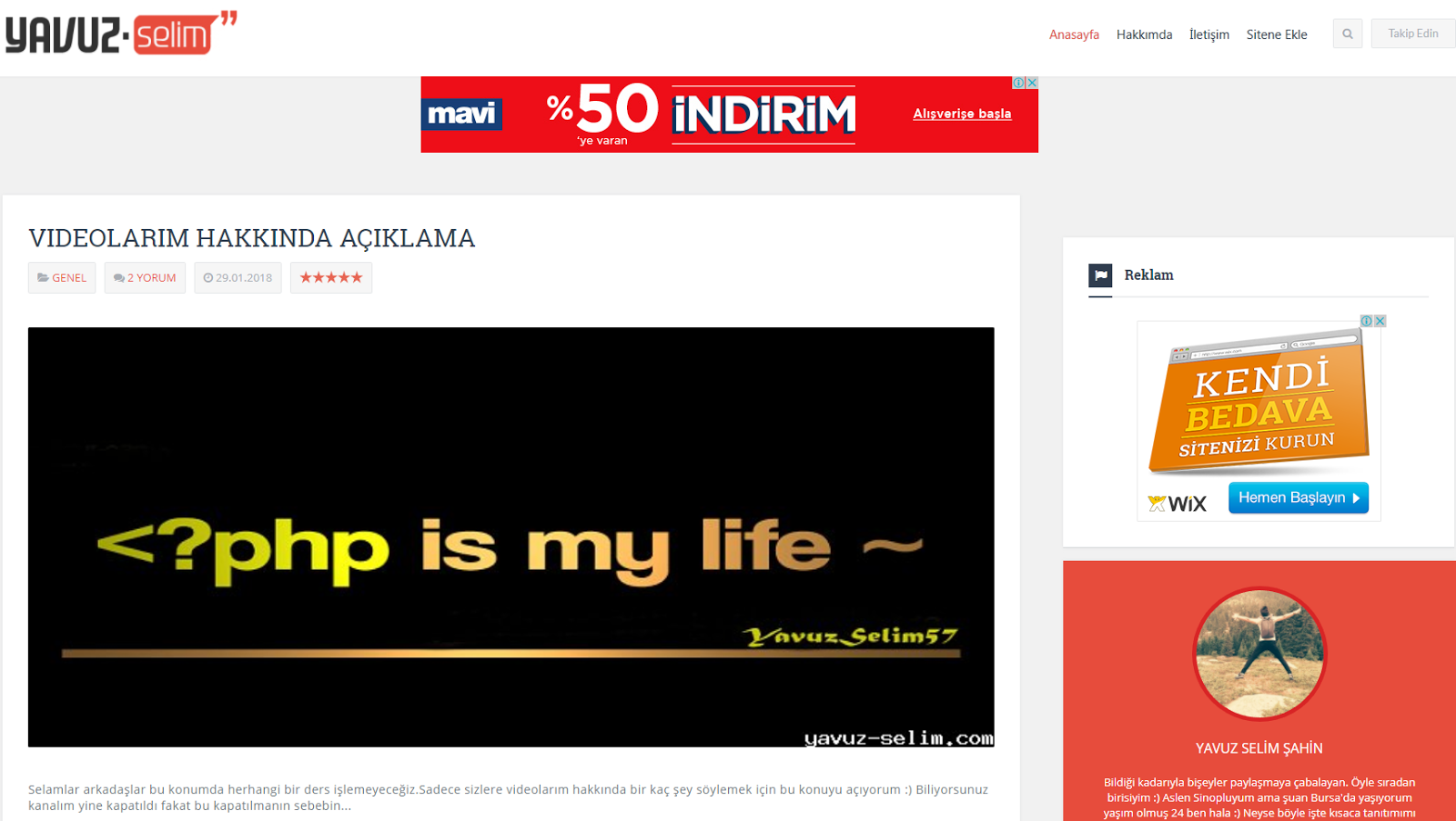 Yavuz Selim Röportaj tamamladım