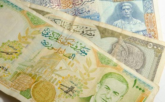 سعر صرف العملات الأجنبية مقابل الليرة السورية الخميس 25 ابريل
