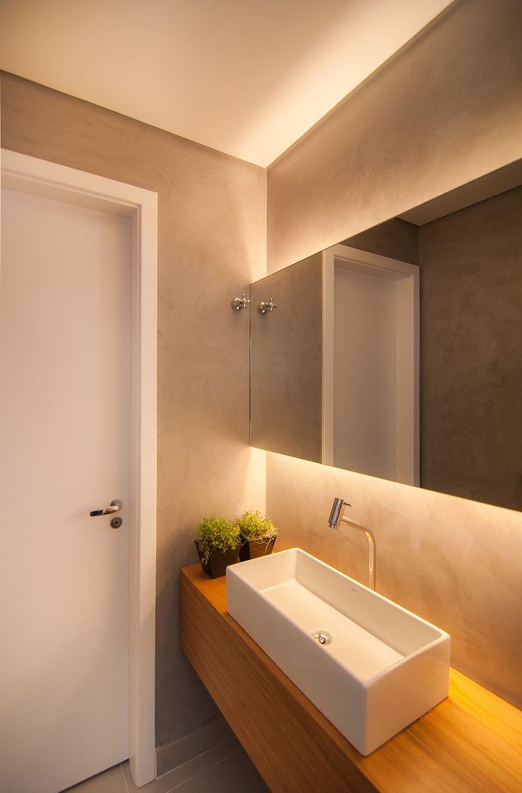 Flores e plantas no banheiro ou lavabo jeito de casa blog de decora o e arquitetura - Lavabos a medida ...