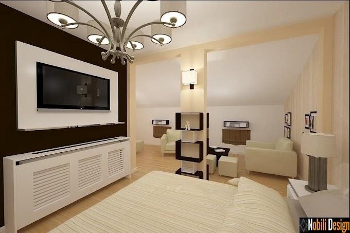 Amenajari interioare Bucuresti pret | Design interior mansarda casa moderna Bucuresti