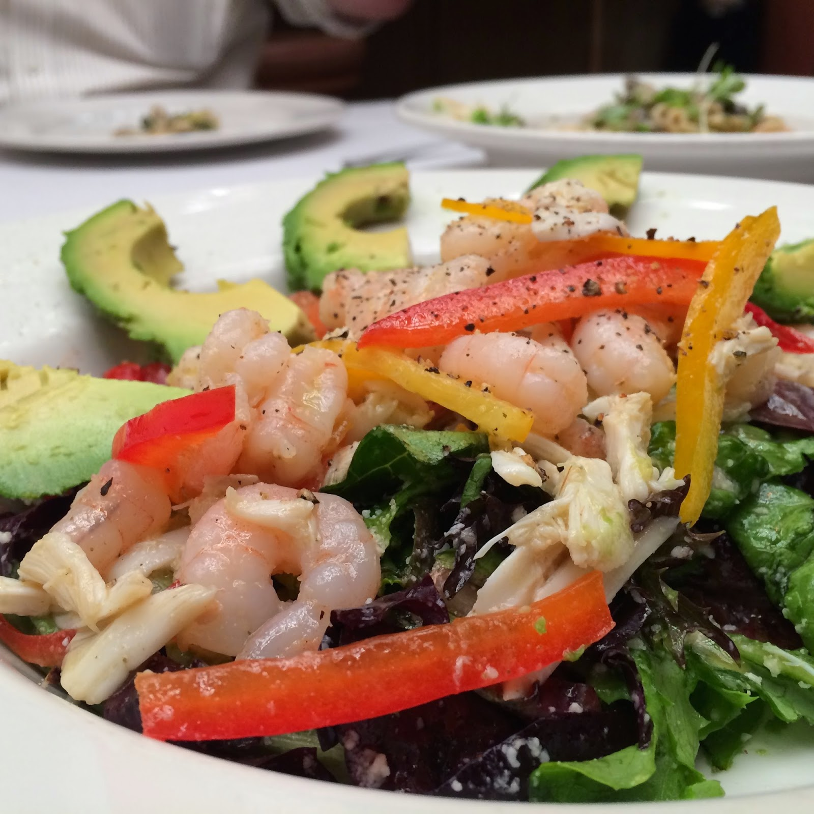 Juban's Marinated Seafood & Avocado Salad
