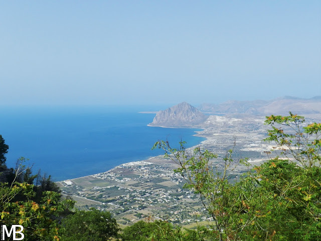 panorama erice sicilia