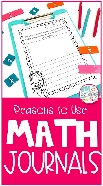 Open ended constructed response math journal prompts ask students to think deeper and explain their thinking!