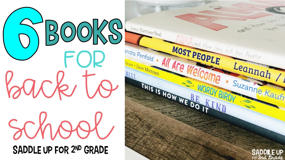 This blog post shares 6 books to use in your classroom during back to school season. They focus on kindness, listening, diversity, and making all children feel safe at school.