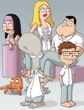 Jerome Wetzel TV: American Dad! Volume 6 out on DVD