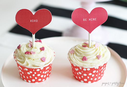 Valentines Day Cupcakes for Two