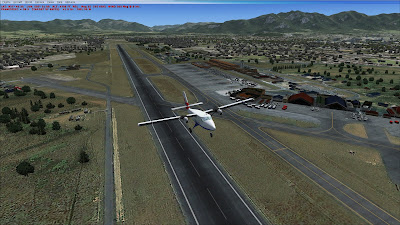 DH-6 takeoff VNKT on FSX