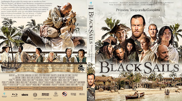 Capa Bluray Black Sails Primeira Temporada [Exclusiva]