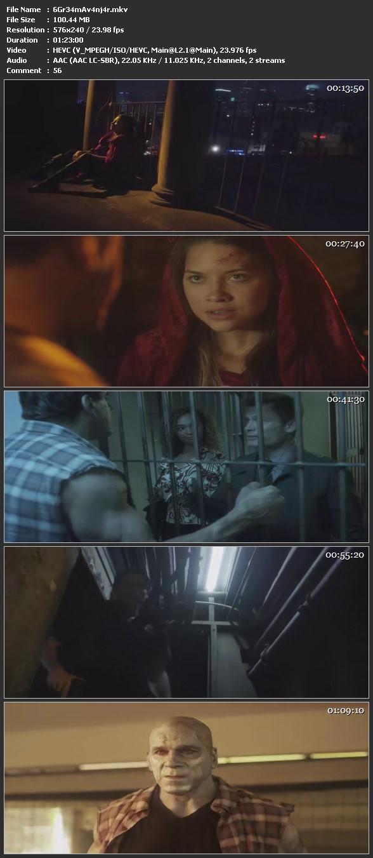 Screen Shot Of Avengers Grimm 2015 In Hindi Dual Audio BRRip 100MB Mobile HEVC