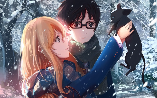"Wallpaper ""Your Lie in April"""