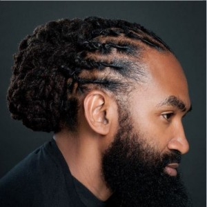 Beard Styles for Black Men with Dreadlocks