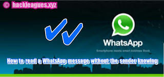 How to read a WhatsApp message without the sender knowing