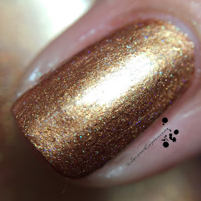Nail polish swatch of Carol by M Polish