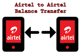 Transfer or send credit from Airtel to airtel network