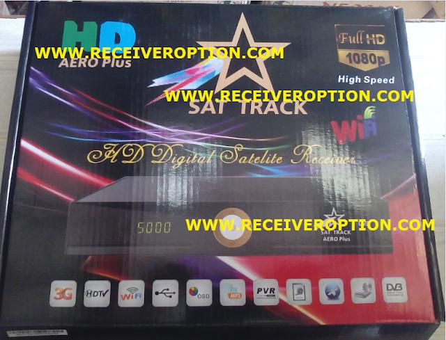 SAT TRACK AERO PLUS HD RECEIVER AUTO ROLL POWERVU KEY NEW SOFTWARE
