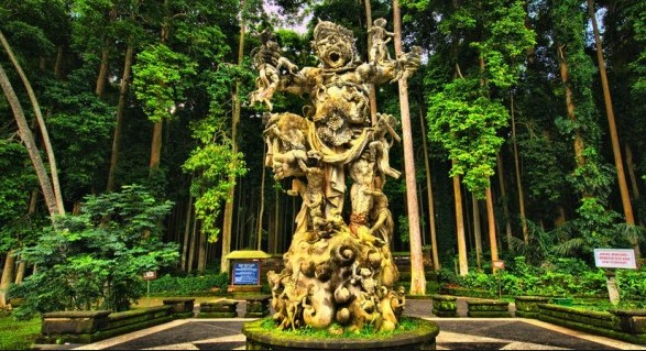 Destinasti Objek Wisata Sangeh Monkey Forest Di