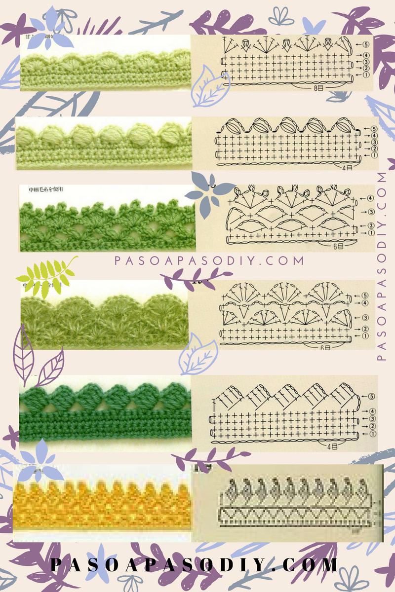 Bordes al Crochet - DIY | Paso a Paso