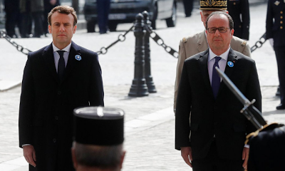 French President Elect, Emmanuel Macron to be sworn-in Sunday