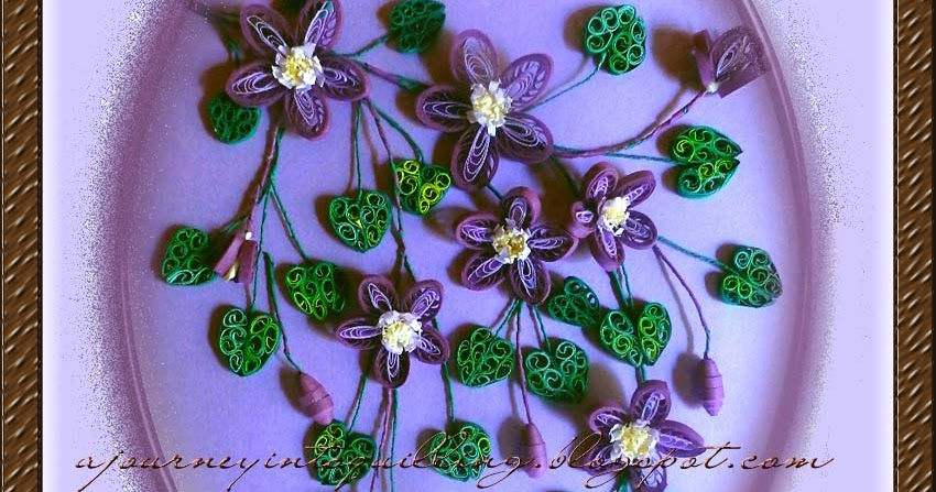 how to make quilling fringed flowers