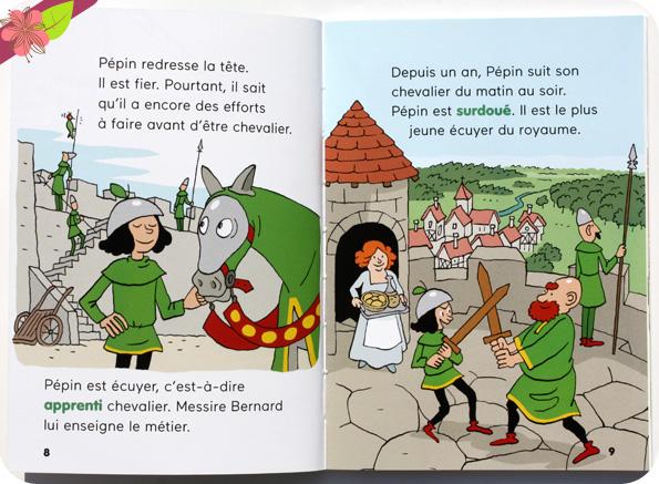 Pépin, chevalier pressé de Benoît Broyart et Alexandre Franc - Docs Benjamin - éditions Milan