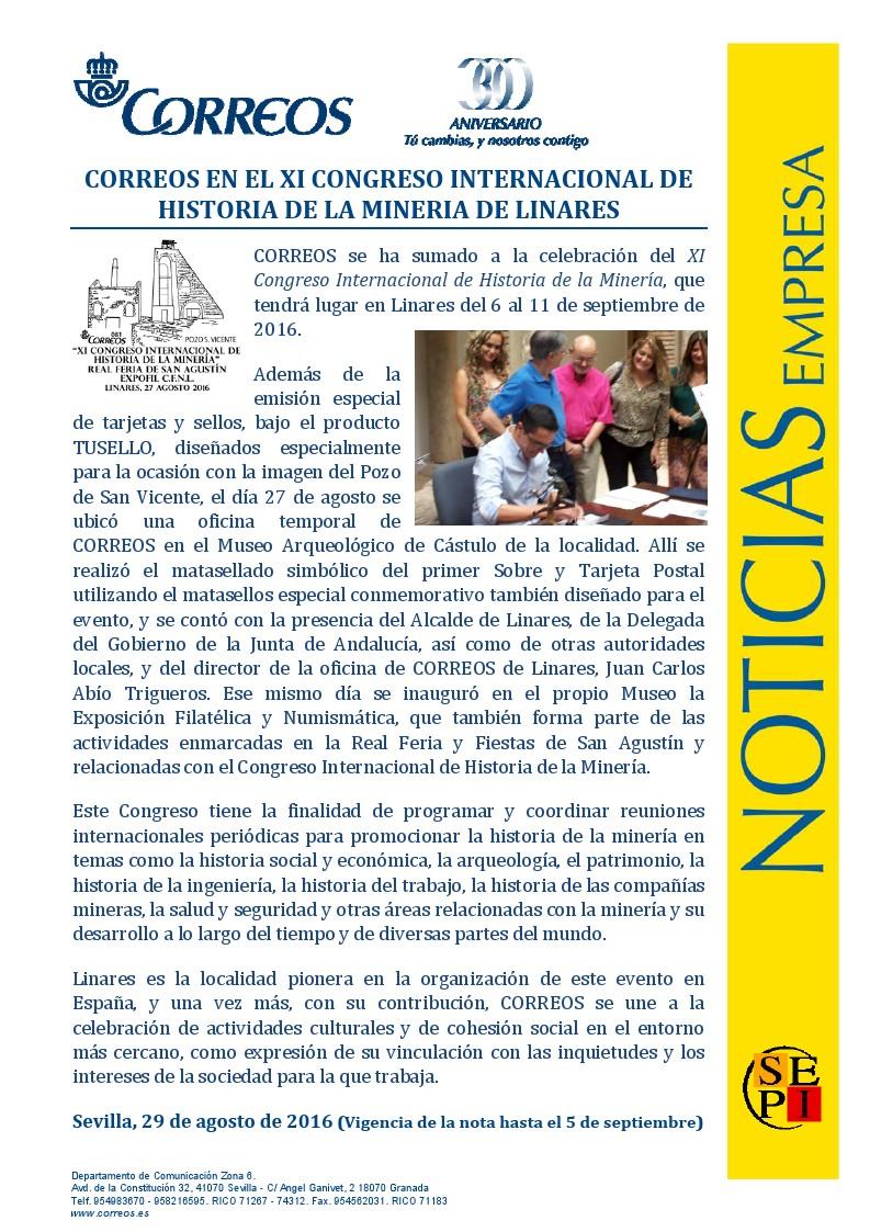 Circulo filatelico y numismatico de linares el for Oficina internacional de origen correos