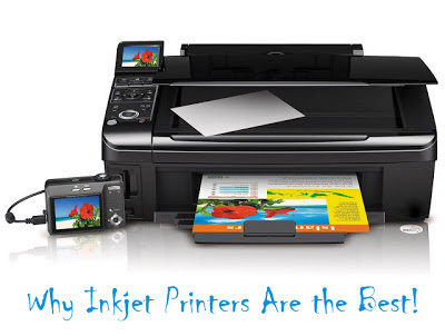 Why The Humble Inkjet Printer Will Not Be Completely Superseded By Lasers (at Least Not YET Anyway)