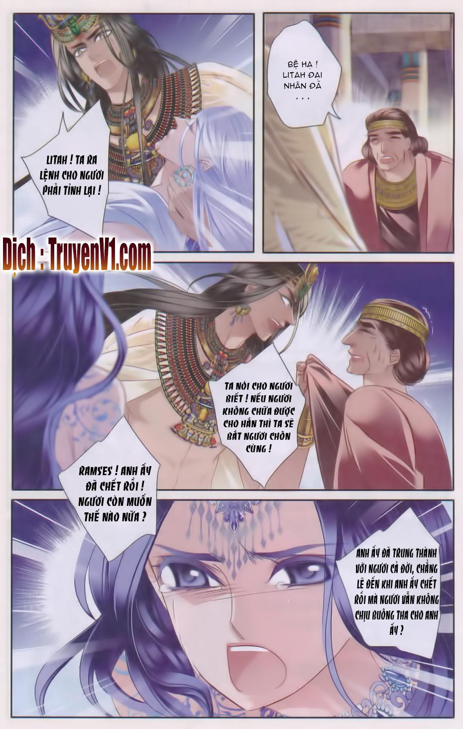 Sủng Phi Của Pharaoh Chap 29
