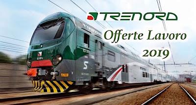 Offerte lavoro Ferrovie Trenord (scrivisullapaginadeituoisogni.blogspot.it)