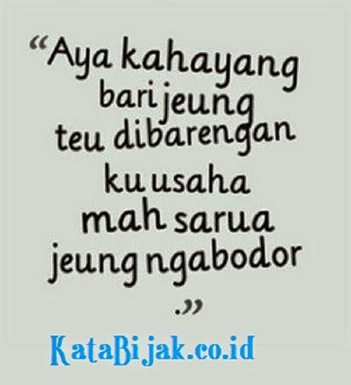 Kata Motivasi Lucu Sunda Cikimmcom