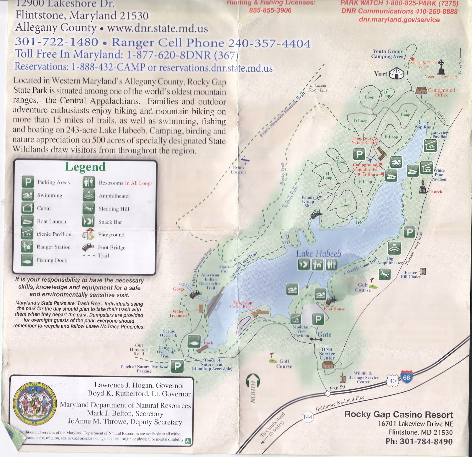 rocky gap Rocky gap is an unincorporated community that is located in bland county in the us state of virginia in the year of 2016, there was an estimate that there were a total of 511 people living in rocky gap.