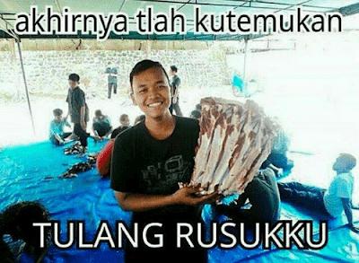 12 Meme Lucu 'Tulang Rusuk' Ini Bikin Ngakak Jomblo Se-Bekasi