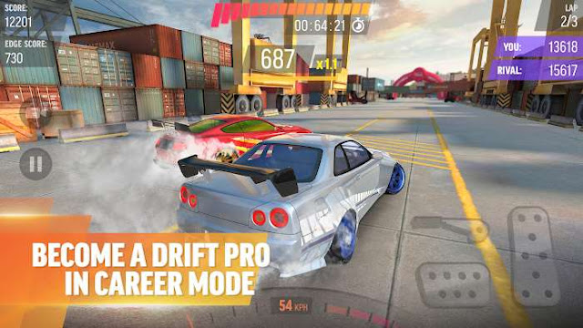 Download Game Balapan Drift Max Pro Mod Apk Unlimited Money