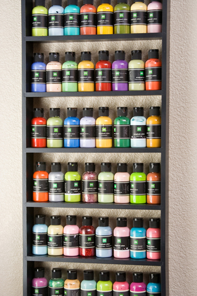 31 days of organizing tips day 24 craft supplies from - Supplies needed to paint a room ...