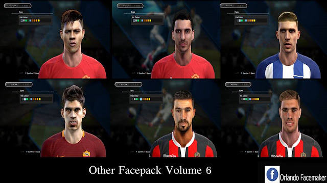 PES 2013 Other Facepack Volume 6 by Orlando Facemaker
