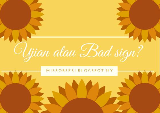 Plan Tak Jadi | Ujian atau Bad Sign ?
