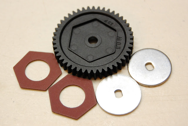 Traxxas TRX-4 slipper clutch parts