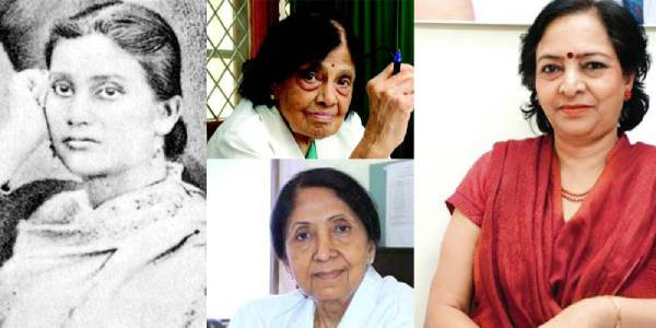 A collage of four women doctors who revolutionised Indian medicine