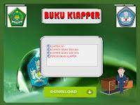 Contoh Format Buku Klapper SD/MI, SMP/MTs, SMA/MA Format Words.Doc