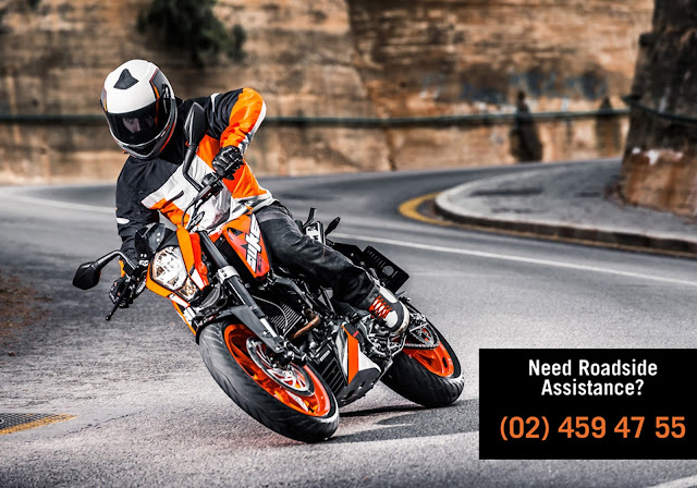 24/7 Emergency Roadside Assistance for KTM Riders