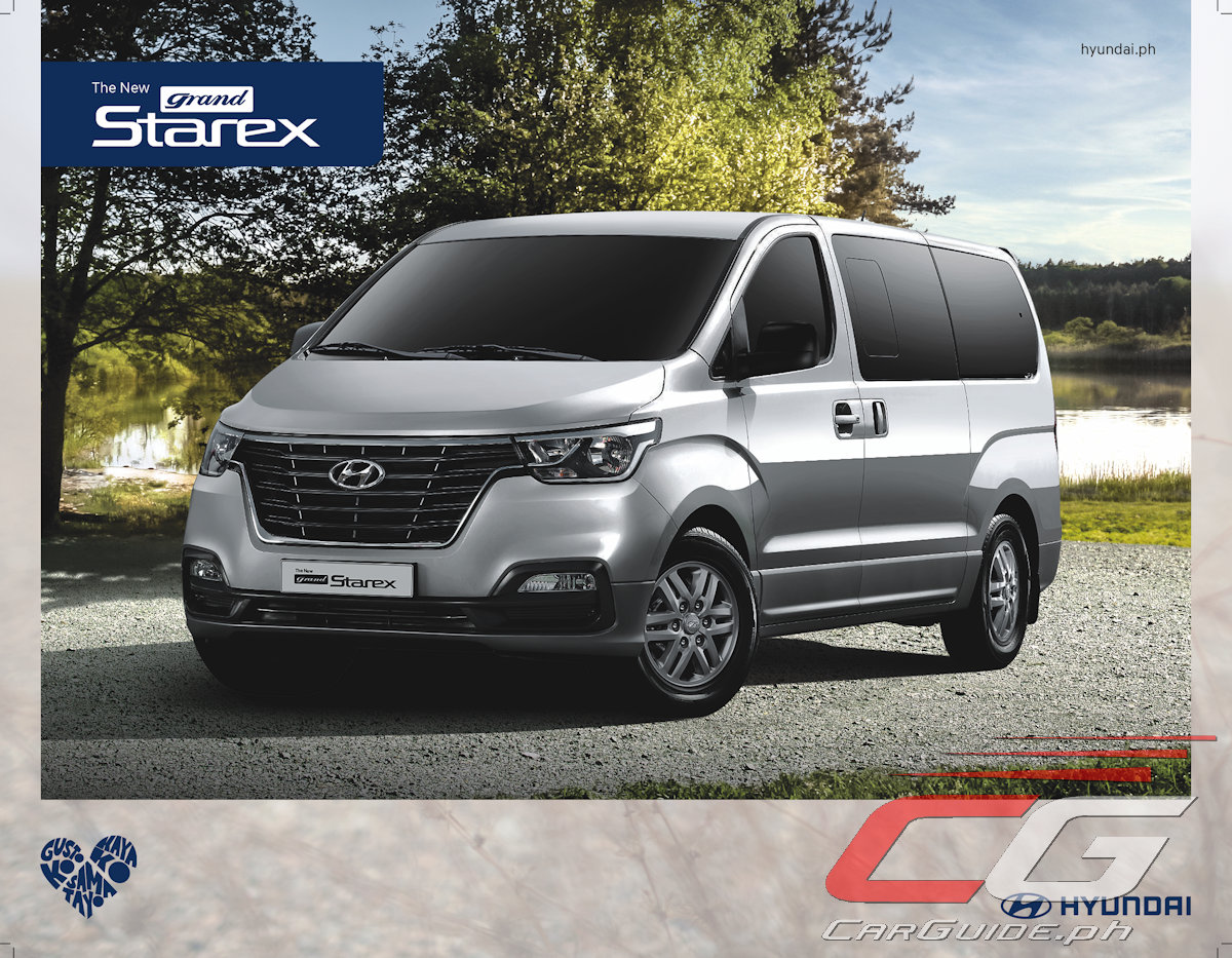 2a56aea3bd The 2018 Hyundai Grand Starex is available in three colors  Creamy White