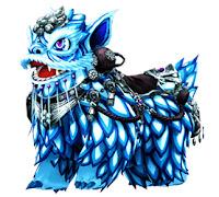 [Bike Costume] Mythical Lion (Blue)
