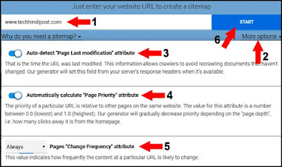how to create sitemap for blogger or website