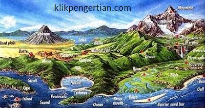 Pengertian Konsep Geografi menurut I Made Sandy, Henry J.Warman, dan Bintaro