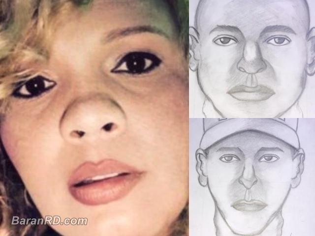 La empresaria Yakaira Pérez Ortega y retratos de secuestradores