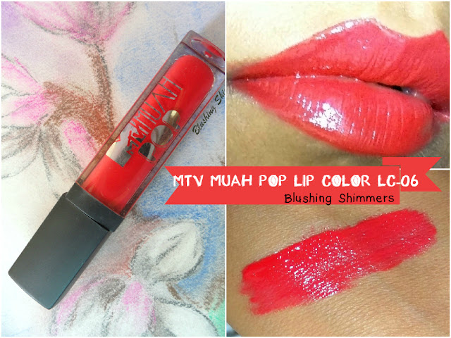 Mtv Muah Pop Lip Color LC-06 Review