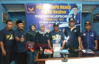 Kembalikan Formulir Pendaftaran Cabub, Arief Januarso Akan Komunikasi Intens Dengan Parpol