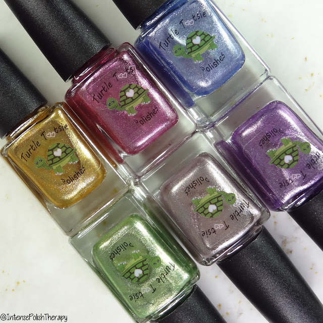 Turtle Tootsie Polishes | Summer Foils Collection